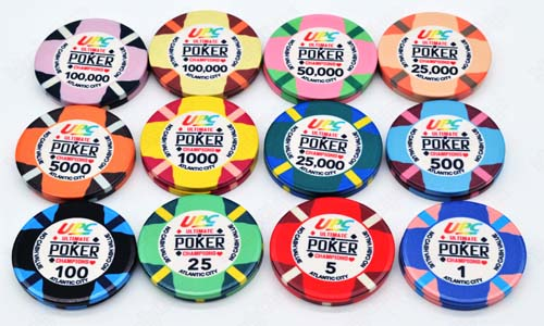 printed poker chips