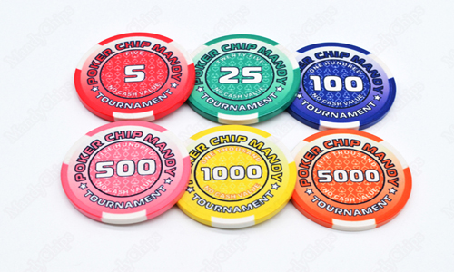 Tournament Poker Chips