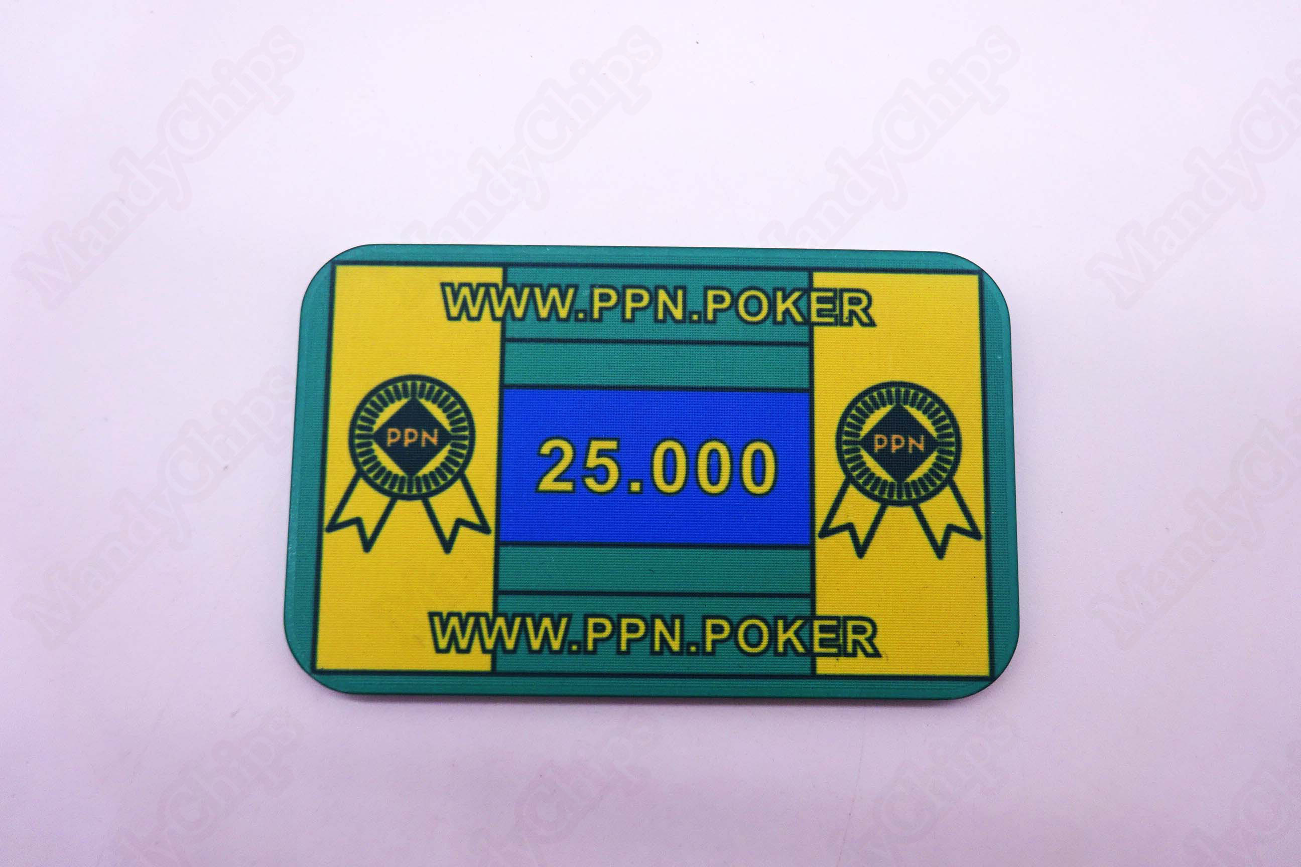 ABS poker plaques