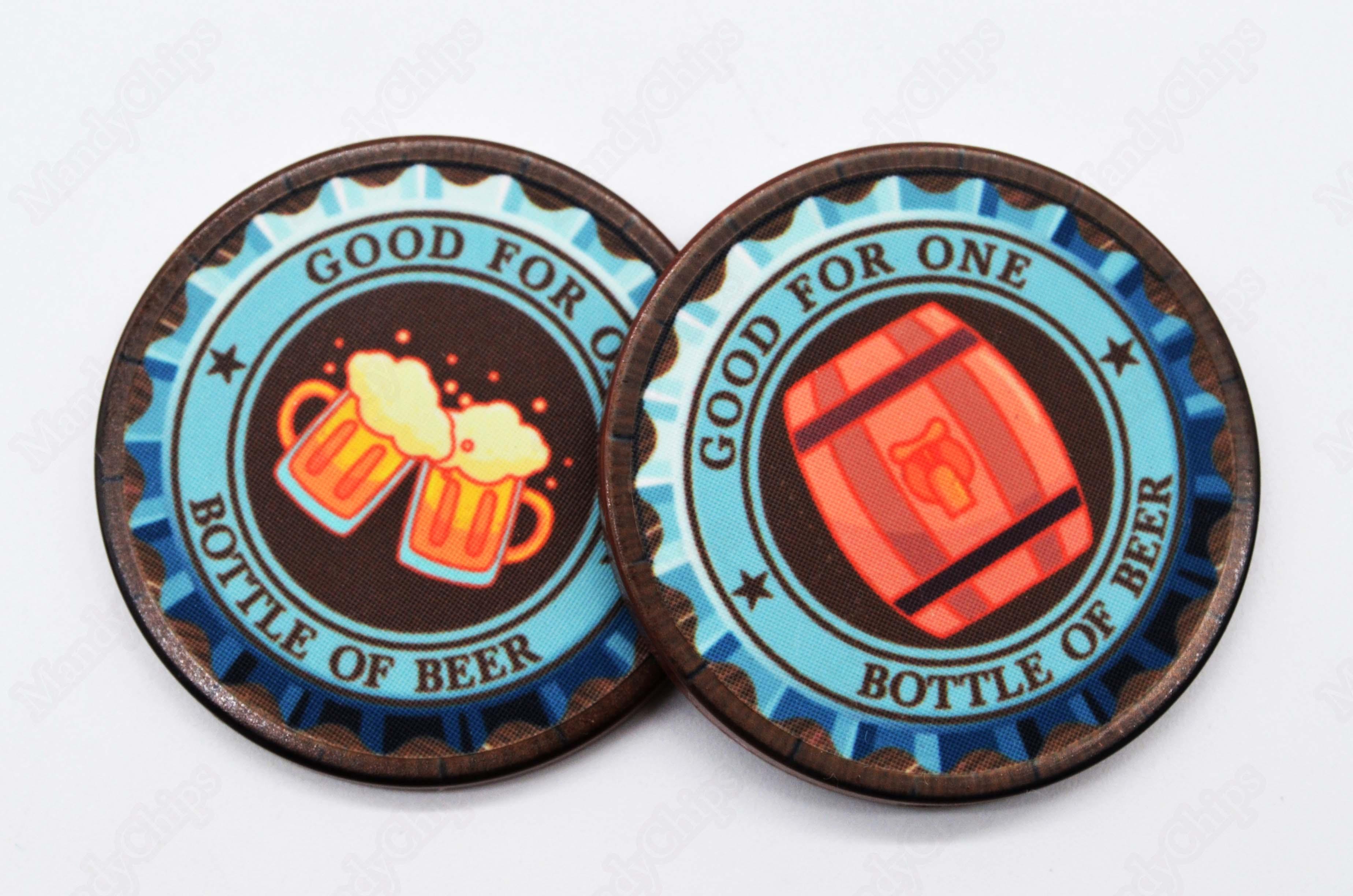 custom drink tokens