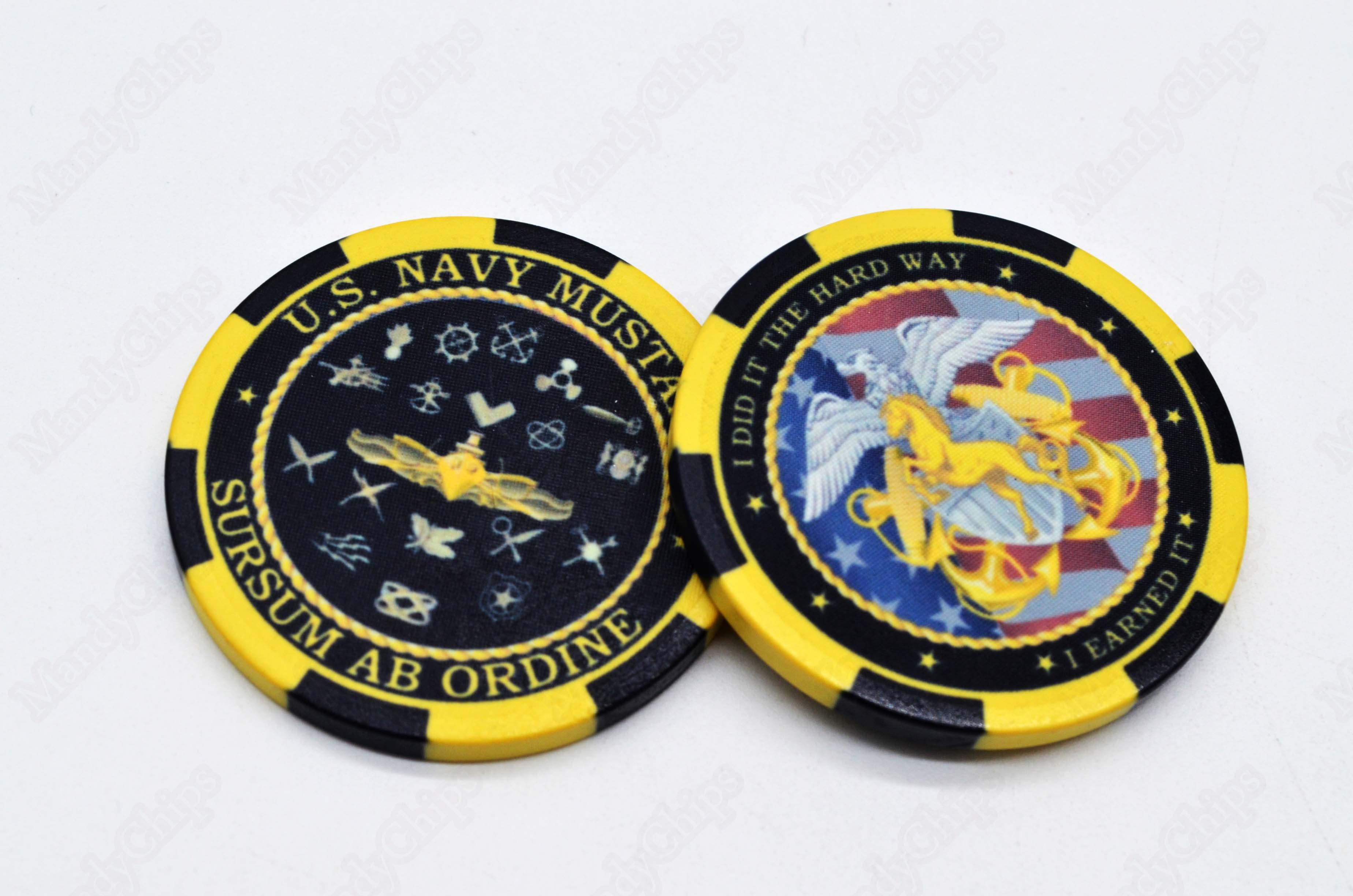 poker chip challenge coins